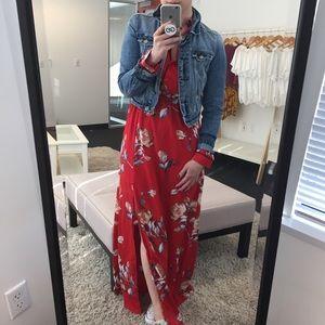 Floral Pajama Dress